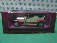 Vintage -  ROLLS  ROYCE Silver Ghost  1906             - Matchbox n° Y-10