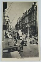 Vintage Real Photo Raphael Tuck Post Card The Strand London 1920's?
