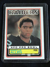1983 TOPPS MARCUS ALLEN RC CARD #294 NM
