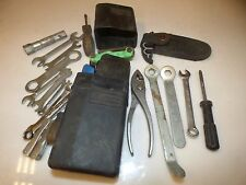 Wrench Set Allen Spare Tool Holder Misc Tools Screw Drivers Pliers Saw