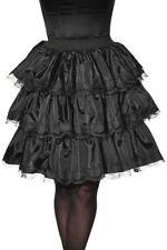 Noir Jupe à Volants Steampunk Pirate Gothique Femmes Adulte