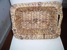 Seegraskorb Größe 37x30 cm geflochten mit Henkeln neu