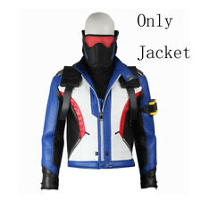 Hot Cakes Soldier 76 Cosplay Costume Jacket Coat Adult Unisex Men Top Any Size