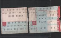 Supertramp JJune 5 1977 Rochester Auditorium Theatre Ticket Stub 100AMTS