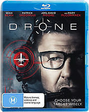 DRONE BLU RAY - NEW & SEALED SEAN BEAN (GAME OF THRONES) WAR ON TERROR