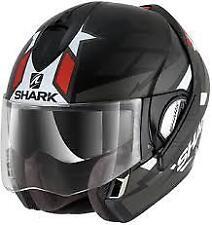SHARK EVOLINE S3 STRELKA MAT KAR MOTORCYCLE HELMET - SMALL (S)