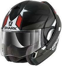 SHARK EVOLINE S3 STRELKA MAT KAR MOTORCYCLE HELMET - X-SMALL (XS)