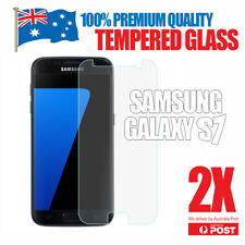 2 PACK x GENUINE Tempered Glass Film Screen Protector for Samsung Galaxy S7 4G