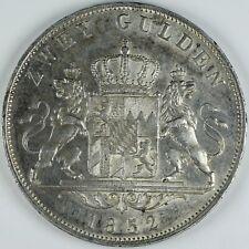 Zwei mark argent 1852 Maximilian 2