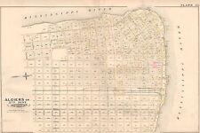 1883 E. ROBINSON, ALGIERS POINT, NEW ORLEANS, LOUISIANA,COPY PLAT ATLAS MAP