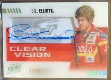 2019 Prime Racing Bill Elliott SILVER *Clear Vision* Autograph Card #/50!!