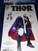 Thor #2 (2020, Marvel) 1st Black Winter : Klein Design Variant : Cates : CGC 9.8