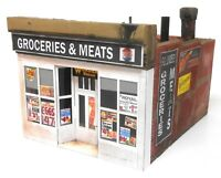 Downtown Deco N Scale Lindsey's Grocery Craftsman Kit Great Brick Detail!!