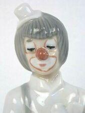 Tengra Porcelain/Ceramic Clown Musician Figure She Loves Me She Loves Me Not EUC