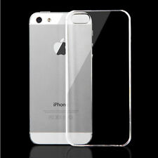 Clear Transparent Ultra Thin Hard Back Case Cover For Apple iPhone 5 5S SE