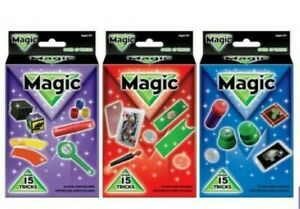 Kid's Magic Box Set 15+ Tricks   Toys Become a Great Magician Choose Your Set