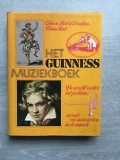 Het Guiness-Muziekboek Music book