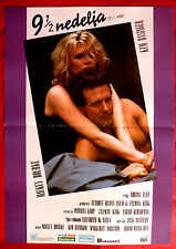 9 1/2 NINE AND A HALF WEEKS '86 SEXY KIM BASINGER MICKEY ROURK EXYU MOVIE POSTER