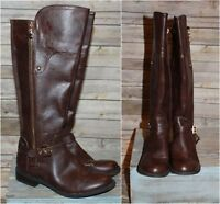 ac68bf869b24 G by Guess Harson Tall Riding Boots Brown Women s Size 9 1 2 9.5 HW4780