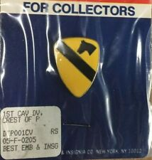 U.S Army 1St Cavalry Division - Lapel / Hat Pin - Vintage 1980S - New Old Stock