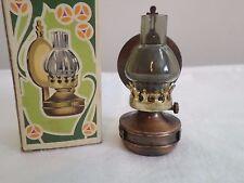 Play Me Oil Lamp Lantern Miniature Copper Pencil Sharpener 3 1/2