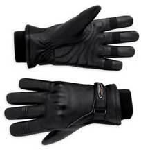 FXRG Harley-Davidson Motorcycle Gloves - Leather Black Large (98124-11VW)