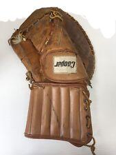 Vintage Rare Cooper GM6 Senior Ice Hockey Goalie Catcher leather Full right SR