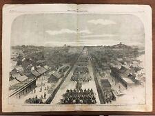The Illustrated London News centerfold, 1-5-1861 Earl of Elgin in Peking in 1860