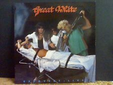GREAT WHITE  Recovery Live   LP   NEAR-MINT !!