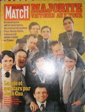 Paris Match N° 1501 3 mars 1978 Stars de la télévision Poivre d'Arvor Pivot