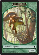 1x Squirrel Token NM-Mint Conspiracy  C mtg SPARROW MAGIC