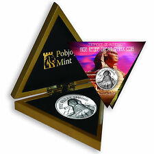 2015 The Great Sphinx, 999 Silver Proof, British Virgin Islands, $10 with box