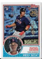 RAFAEL DEVERS 2018 Topps Series 1 1983 TOPPS CHROME Silver Pack #20 RED SOX RC