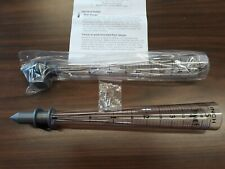 Lot of 2 Rain Gauge Tubes up to 5 inches Plastic Timex