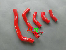 For HONDA CRF450R CRF 450 R 2005 2006 2007 2008 silicone radiator hose red