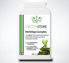 Thyroid Support Supplement Only Organic Ingredients with Seaweed Iodine 100 Caps