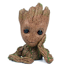 Baby Groot Flowerpot Action Figures Guardians Succulent Planter PenPencil Holder
