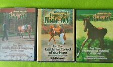 New listing 3 New Bob Dickinson Horse Training Dvd's~Building a Foundation You Can Ride On