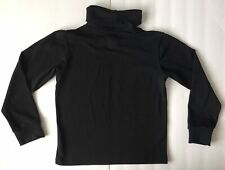 Rei Youth Size Small 6/7 Long Sleeve Black Turtleneck Base Layer Shirt Winter