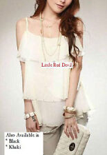 Chiffon Tank, Cami Unbranded Hand-wash Only Tops & Blouses for Women