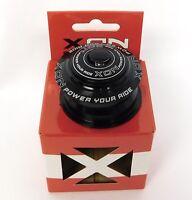 "XON Model XHS-103 1-1/8"" Internal Alloy Headset NEW In Box Black w/ top cap"