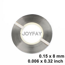0.15 x 8 mm Pure Nickel Strip Strap Ni200 for Battery Welding Soldering 1kg/roll