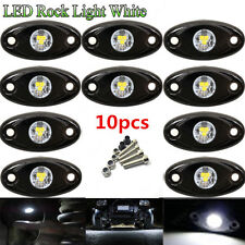 10X CREE LED Rock Light JEEP ATV Off-Road Truck Under Body Trail Rig Light White