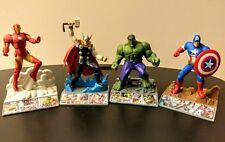 MARVEL AVENGERS Assemble APP Heroez HULK Capt. America THOR Iron Man/Cake Topper
