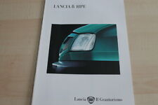 123354) Lancia Delta HPE Prospekt 04/1995
