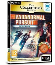 * PC NEW SEALED Game * PARANORMAL PURSUIT The Gifted One * Hidden Object Game