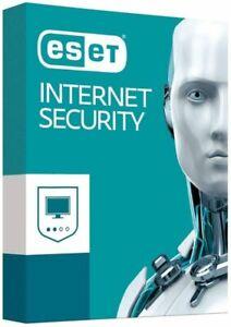 Eset Nod 32 Internet Security 1 PC Devices  2021 Region Free Key