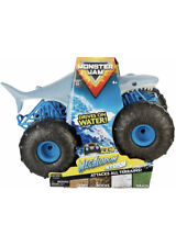 MONSTER JAM MEGALODON STORM SHARK R/C REMOTE CONTROL DRIVES ON WATER NEW