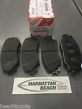 12-17 PRIUS V & 13-15 XB Front Brake Pads NEW genuine Toyota OEM 04465-42200