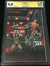 Signed WWE #16 CGC 9.8 by TRIPLE H Boom! Studios RAW 25th Anniversary Variant DX
